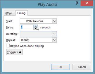 Menunda audio