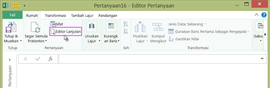 Editor Lanjutan