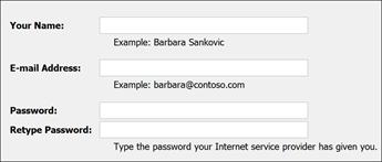 Masukkan alamat e-mel dan kata laluan anda