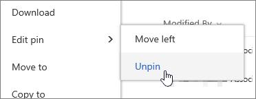 Hightlight fail dengan Edit pin dan buka PIN diserlahkan