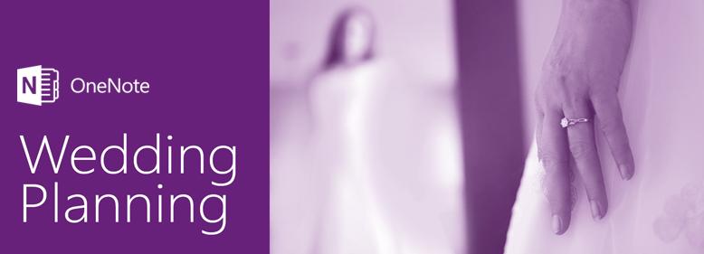 Rancang majlis perkahwinan dengan OneNote