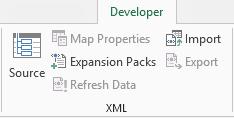 Perintah XML pada tab Pembangun