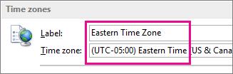 Zon Waktu Timur