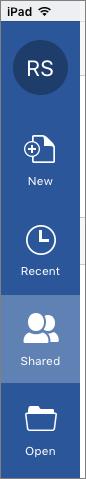 iOS dikongsi dengan saya ikon
