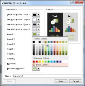 Ubah warna tema