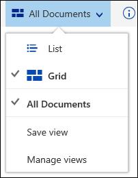 Office 365 ubah pandangan pustaka dokumen