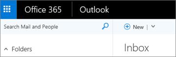 Reben rupa dalam Outlook pada web.