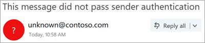Petikan skrin tanda soal dalam imej penghantar