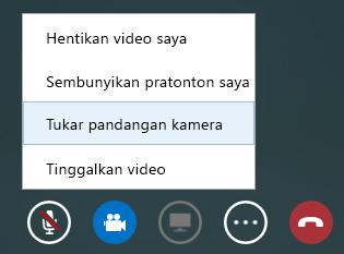 Petikan skrin tukar video
