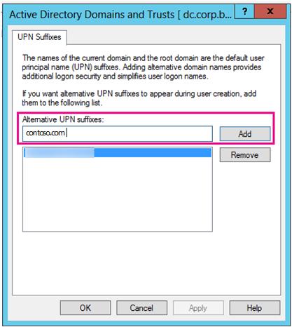 Tambah akhiran UPN baru