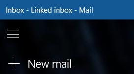 Pilih mel baru untuk menggubah mesej baru