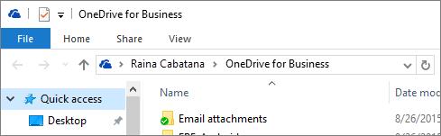 Klien desktop lama OneDrive untuk Perniagaan