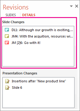 Perubahan Slaid