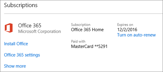 how to avoid expiration of microsoft office 365