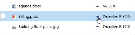 Nama fail yang diserlahkan dalam pustaka dokumen