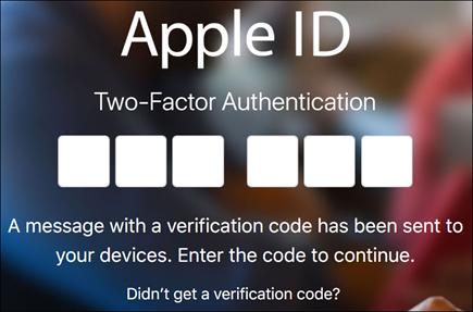 Masukkan kod pengesahan dua faktor