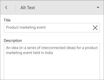 Perintah teks alternatif pada bentuk