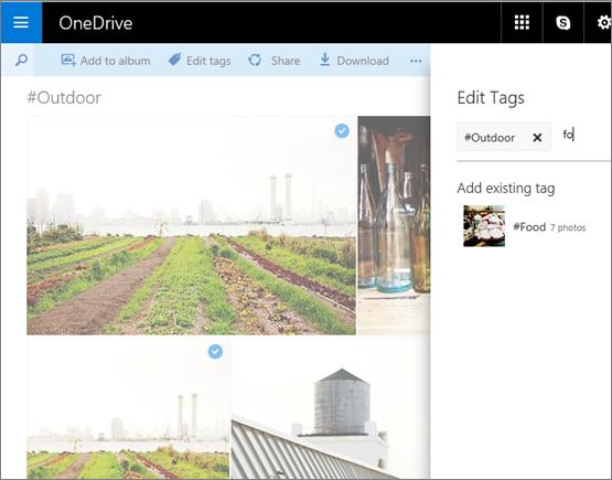 Tag Edit OneDrive.