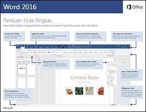 Panduan Mula Ringkas Word 2016 (Windows)