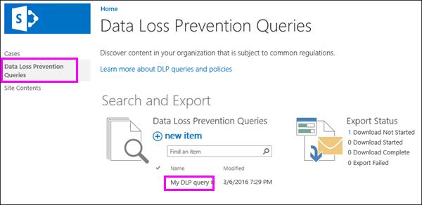 Opsyen pertanyaan pencegahan kehilangan data
