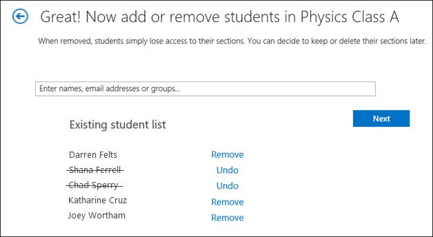 Petikan skrin cara untuk menambah kumpulan.