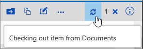 Melapor keluar Nota dengan ikon diserlahkan