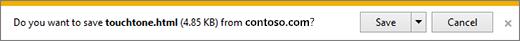 Prom muat turun Internet Explorer