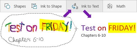 Menunjukkan ditulis perkataan, dakwat kepada teks butang dan perkataan teks ditukar.