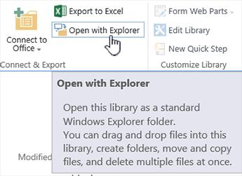 SharePoint 2016 buka dengan Explorer IE11
