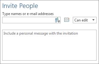Kotak untuk menyenaraikan alamat e-mel individu