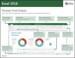 Panduan Mula Ringkas Excel 2016 (Windows)