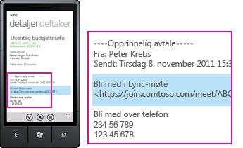 Lync for mobilenheter