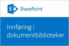 Miniatyrbilde_Innføring i dokumentbiblioteker