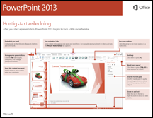 Hurtigstartveiledning for PowerPoint 2013