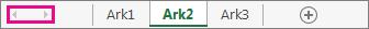 Rulleknapper for ark