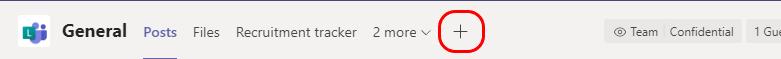 Legge til et liste ikon øverst på siden
