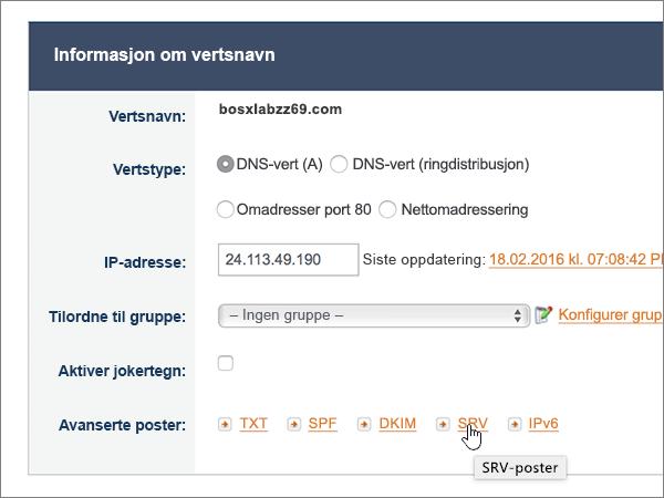 NoIP-gode Fremgangsmåter-konfigurere-5-1