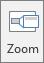 Viser Zoom-knappen på Sett inn-fanen i PowerPoint.