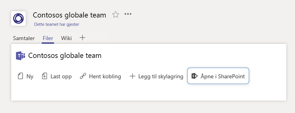 SharePoint site_Teams