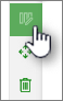 Klikk knappen Rediger inndeling for å begynne å redigere en inndeling