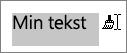 Dra over teksten for å bruke kopiert formatering