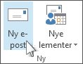 Klikk Ny e-post