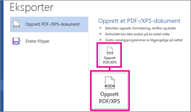 what is a pdf xps document
