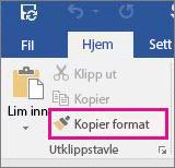 Kopier format