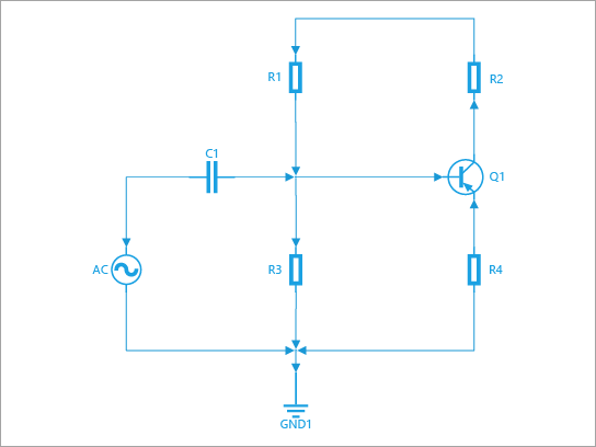 Opprett et skjematisk og en linje-og koblings diagrammer og tegninger. Inneholder figurer for brytere, reléer, overførings baner, halv ledere, krets og rør.