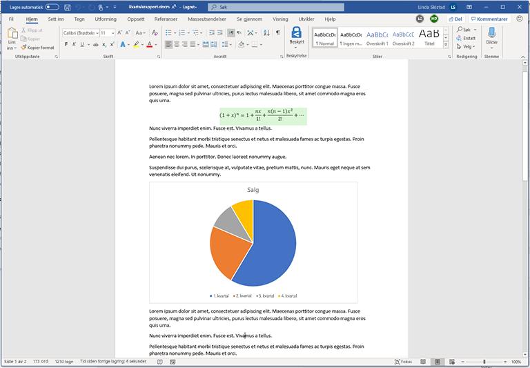 Dokumenter med makro og flere som redigerer samtidig