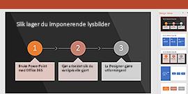 PowerPoint Designer funksjon