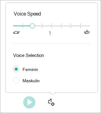 Engasjerende leser talehastighet og kjønn