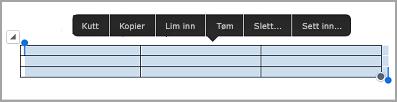 kommando linje for iPad-tabell