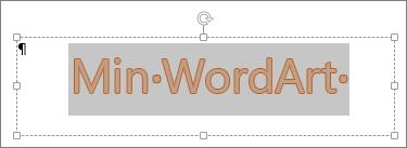 Merket WordArt